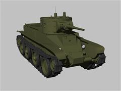 二战坦克苏联BT5