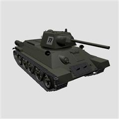 二战坦克T34