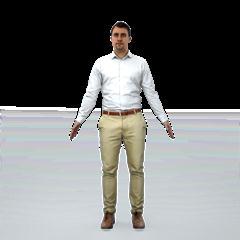 现代人物模型系列 职场白领男