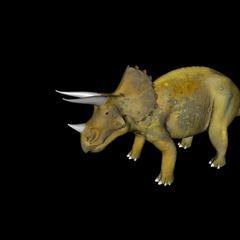 侏罗纪强势来袭 史前恐龙系列 三角恐龙