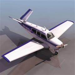 飞机3D模型系列 19-20世纪飞机历史博物馆 比奇飞机