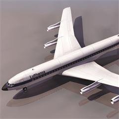 飞机3D模型系列 19-20世纪飞机历史博物馆 波音707