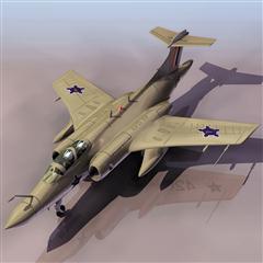 飞机3D模型系列 19-20世纪飞机历史博物馆 掠夺者战斗机