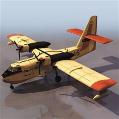 飞机3D模型系列 19-20世纪飞机历史博物馆 candair飞机