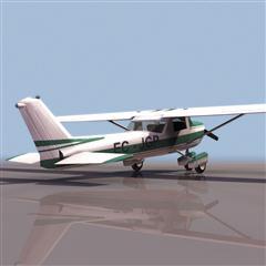 飞机3D模型系列 19-20世纪飞机历史博物馆 赛斯纳