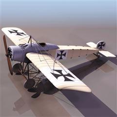 飞机3D模型系列 19-20世纪飞机历史博物馆 二战德国战斗机