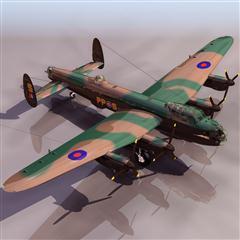 飞机3D模型系列 19-20世纪飞机历史博物馆 T_LANC飞机