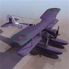 飞机3D模型系列 19-20世纪飞机历史博物馆 水上飞机