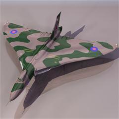 飞机3D模型系列 19-20世纪飞机历史博物馆 火神轰炸机