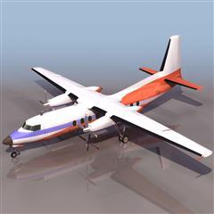 飞机3D模型系列 19-20世纪飞机历史博物馆 福克27 混用型飞机