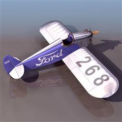 飞机3D模型系列 19-20世纪飞机历史博物馆 美国福特飞机
