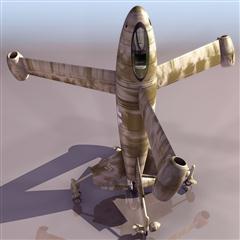 飞机3D模型系列 19-20世纪飞机历史博物馆 二战德国飞行器