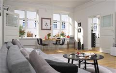 温馨住宅室内场景