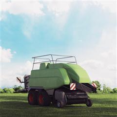 农用车打包机收割机