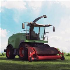 农用收割机