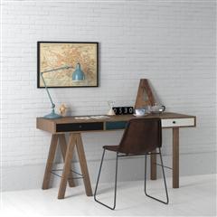 办公室、书房系列 简单的书桌