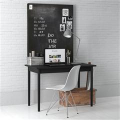 办公室、书房系列 简约风格书桌(黑色调)