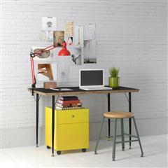 办公室、书房系列 木板书桌