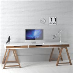 办公室、书房系列 宽敞电脑桌