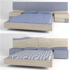 现代简约床具