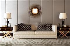 现代沙发边几组合
