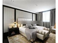 现代卧室床具组合