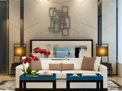 新古典沙发茶几组合
