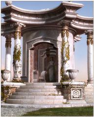 Renderosity Palladio – Roman Props & Scene 罗马道具和场景
