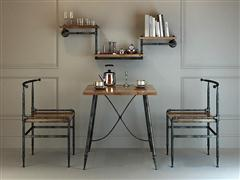 loft工业风桌椅套装14