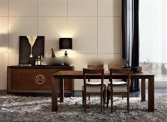 新古典桌子组合、餐边柜 3d模型下载