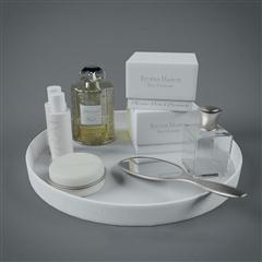 白色亚克力透明玻璃瓶洗浴用品