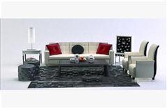 现代沙发组合 3D模型下载