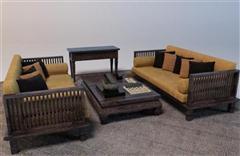 新中式沙发组合 3D模型下载