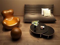 现代休闲沙发组合
