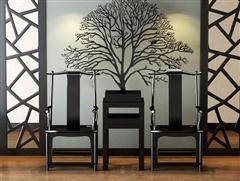 中式桌椅 3D模型下载
