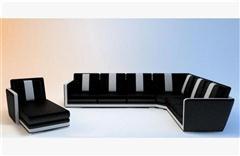 现代沙发 3D模型下载