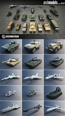 Archmodels vol 84 军事设备模型