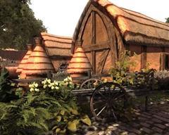 Arteria 3D Medieval Farm Pack 中世纪的农场模型包
