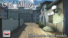 Dexsoft Old Village model pack 旧村模型包