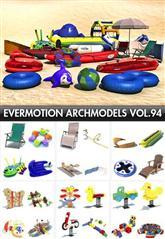 Archmodels vol 94 水上娱乐设备