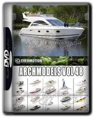 Evermotion Archmodels Vol 48 MAX 游艇合集