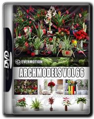 Evermotion Archmodels Vol 66 MAX花草模型合集