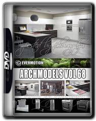 Evermotion Archmodels Vol 68 厨房电器模型