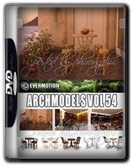 Evermotion Archmodels Vol 54 餐厅家具