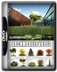 Evermotion Archmodels Vol 52 树木和灌木