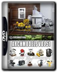 Evermotion Archmodels Vol 51 厨房配件