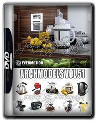 Evermotion Archmodels Vol 51 厨房配件