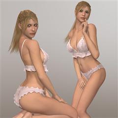Renderosity Shy Girl V4/A4/G4