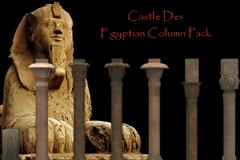CastleDev Egyptian Columns 1埃及柱子