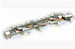 商业街建筑群